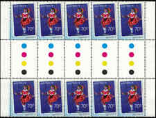 2015 AUSTRALIA Signs of the Times 70c GUTTER STRIP (10) MNH