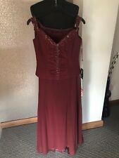 Prom Frocks Purple Chiffon Dress UK10 NWT RRP£295