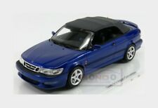 Saab 9-3 Viggen Cabriolet Open 1999 Blue Met DNA COLLECTIBLES 1:18 DNA000001