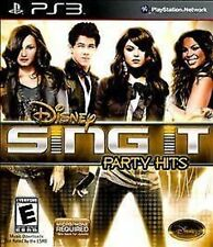 Disney Sing It: Party Hits GAME (Sony Playstation 3) PS PS3 **FREE SHIPPING!!