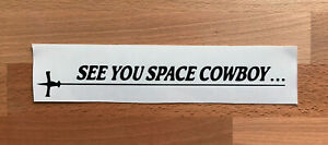 COWBOY BEBOP SPACE COWBOY STICKERS STICKY DECALS CAR VAN BUMPER LAPTOP