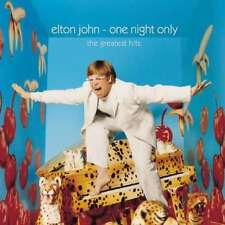 JOHN ELTON ONE NIGHT ONLY THE GREATEST HITS LIVE DOPPIO VINILE LP 180 GRAMMI