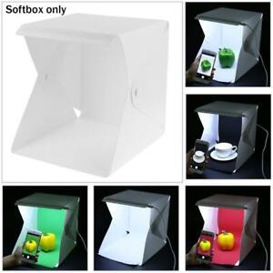 Portable Photo Studio Lighting Mini Box Photography Backdrop LED-Light Room Tent