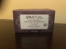 Sparitual Open Minded Organic  Sugar Scrub French Lavender(discontinued Scent)