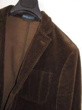 Polo Ralph Lauren Corduroy Patch Pocket Leather Elbow Patch Jacket Sz. 42 R