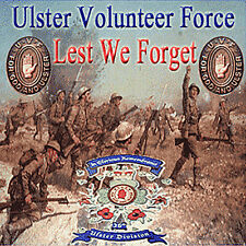 ** LEST  WE  FORGET ** Ulster Volunteer Force* *NEW* - LOYALIST/ULSTER/ORANGE CD