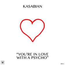 """KASABIAN YOU'RE IN LOVE WITH A PSYCHO SONY RECORDS 10"""" VINYLE NEUF NEW VINYL LP"""