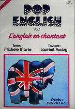 """LAURENT VOULZY - EP """"POP ENGLISH - VOL. 1"""" RÉÉDITION 1986"""
