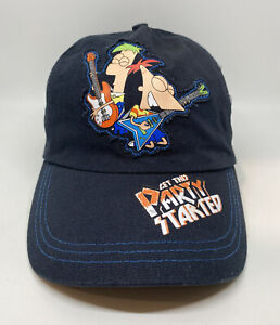 Phineas and Ferb Get This Party Started Cap Hat Kids Adjustable Blue 100% Cotton