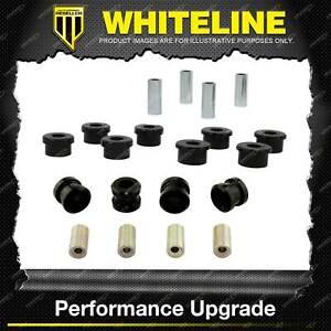Whiteline Front Control Arm Lower Upper Bush Kit for Honda Domani MA MB Integra