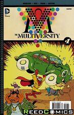 Multiversity #1 (1 in 25 Incentive Variant) Grant Morrison, Ivan Reis DC Comics