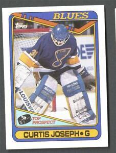 1990-91 Topps Curtis Joseph RC Rookie Blues HOF #171