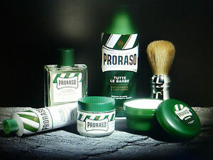 PRORASO of ITALY  NOW INCLUDES BEARD BALM & OIL
