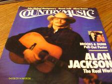 Alan Jackson Covers Country Music Magazine 1994 Brooks & Dunn Poster