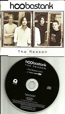 HOOBASTANK The Reason w/ENHANCED VIDEO EUROPE made PROMO DJ CD single USA SEller