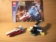 Lego - Star Wars - 4487 - Mini Slave l & Jedi Starfighter