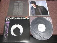 Jansen Barbieri Worlds in A Small Room Japan LP w OBI Promo White Label Copy
