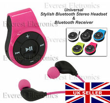 Stylish Bluetooth Stereo Headset / Bluetooth Receiver