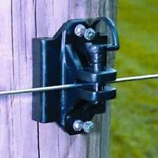Fi-Shock IWTPLB-FS Pin-Lock Wood And T-Post Insulator, Black