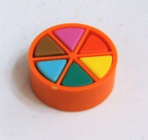 Trivial Pursuit Board Game Replacement Part ORANGE MOVER 6 Wedge Piece Pie Token