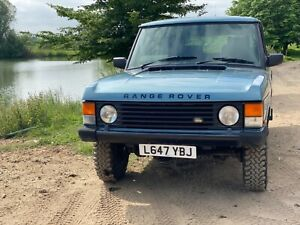 1993 Range Rover Classic Diesel with Manual Gearbox