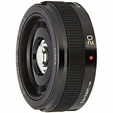 Panasonic Micro Four Thirds LUMIX G 20mm F1.7 II ASPH Black H-H020A-K USED