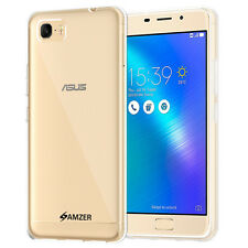 AMZER Pudding Matte TPU Skin Case Cover For ASUS ZenFone 3s Max ZC521TL - Clear