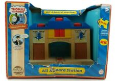 Thomas & Friends All Aboard Station Wooden Sir Topham Matt New Open Non-mint Box