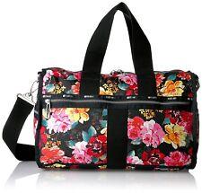 LeSportsac Women's Essential Weekender Duffle Bag - Romantics Black