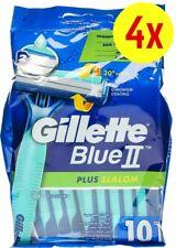 Gillette Blue 2 II Plus Slalom Wegwerf Einwegrasierer mit Schwingkopf 40 Stück