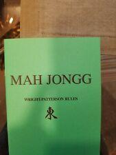 Maj Jongg Playbook