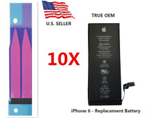 Lot 10 Genuine 1810mAh Internal Battery Replacement iPhone 6 4.7 w/Adhesive Tape