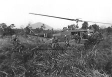 "Huey Helicopter during Operation Attleboro 13""x 19"" Vietnam War Photo Poster 118"