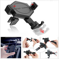 New 10W Fast Car Qi Wireless Charger Car Mount Holder Fast Charge Phone Stand