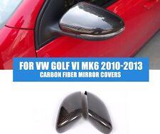 Conjunto De Vw Golf MK6 MkVI ala de reemplazo de Fibra de Carbono Espejos GTD GTI R Touran