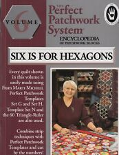 Perfect Patchwork System, Six is for Hexagons - Encylopedia of blocks - BOOK