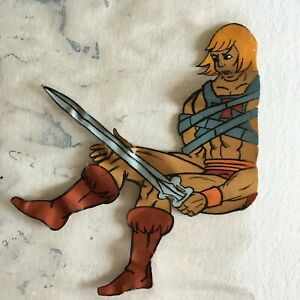 He-Man/She-Ra Masters of the Universe HE-MAN Damaged Animation Cel