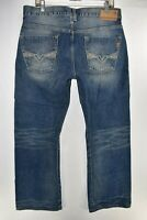 Guess The Cliff Boot Cut Fit Mens Blue Jeans Size 34 Meas. 34x31 Bootcut