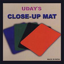 "Close-Up Mat (12.5""x 17"")-Black by Uday Magic Trick close-up"