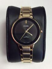 PULSAR Essentials Collection Ladies Gold Tone Stainless Steel Dress WATCH PRS676