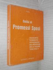 GUIDA AI PROMESSI SPOSI Tomis Il girasole 1981 libro letteratura narrativa di