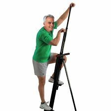 Adjustable Vertical Climber Cardio Exercise Stepper Home Workout Equipment