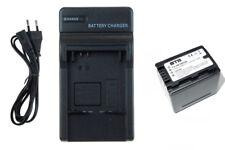 SET Chargeur+Batterie VW-VBK360 pour Panasonic HC-V10, V100, V100M -INFOCHIP-