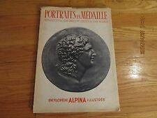 RARE 1946 ENCYCLOPEDIE ALPINA ILLUSTREE Portraits En Medaille JEAN BABELON