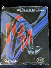 Clifford IntelliGuard Millennia G4 Car Alarm Security System