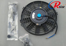 """7"""" 12V Slim Electric Radiator Cooling Thermo Fan with Mounting kit universal fan"""
