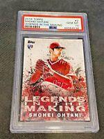 2018 Topps MLB Baseball Legends in the Making Shohei Ohtani RC PSA 10 GEM MT