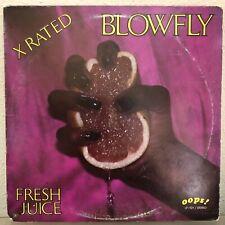 Blowfly Fresh Juice X Rated Vinyl