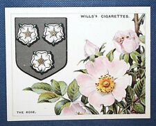 ROSE    Heraldic Sign     Vintage Colour Card  VGC
