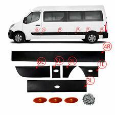 Portes Latérales moulure bande Panneau set côté gauche Renault Master 2010-2016